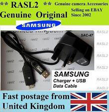 Genuine Samsung SAC-47 charger CB20U05A ES50 ES55 ES60 ES63 ES65  ES70 ES71 ES75