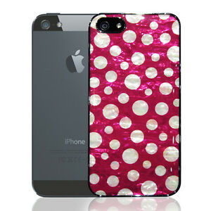 coque iphone 5 nacree