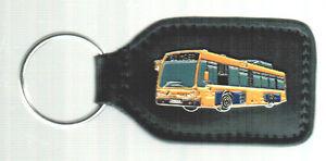6070 Stadtbus Verantwortlich Schlüsselanhänger Linienbus Bus Gasbus Brüssel Belgien Art Accessoires & Fanartikel