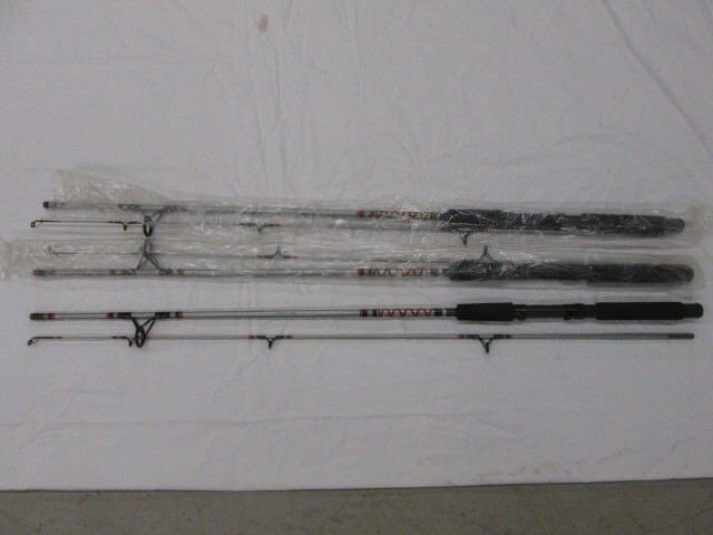 3 Vintage NOS Viking Casting 2pc Rods Med Action 6'6 Composite Graphite