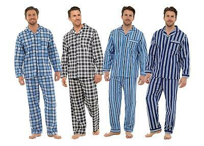 Tom Franks Mens Brushed Cotton Nightshirt Lounge Wear