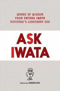 PRE-ORDER: Ask Iwata by Sam Bett