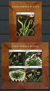 Palau-2012-Fleischfressende-Pflanzen-Carnivorous-Plants-Postfrisch-MNH