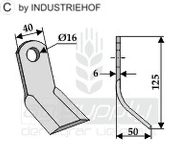 12er Set  Y-Messer 63-DRG-09