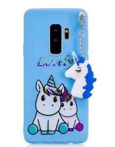 3D Cute Unicorn Case For Samsung S9plus