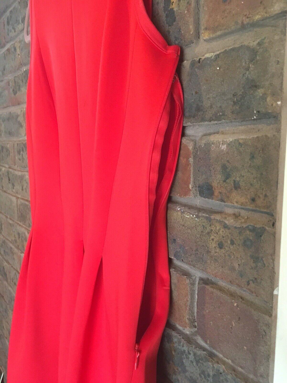cb7cafbdcd4a ... Ann taylor taylor taylor Womens Red Short Dress US8 UK12 d27a07