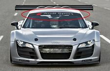 Audi Sport windshield racing graphic vinyl decal Quattro A4 A6 A8 TT RS5 S4 S8