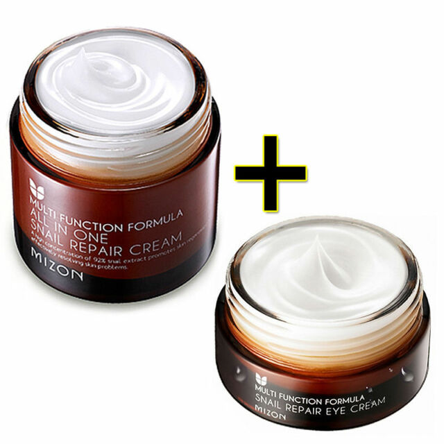 [MIZON] All In One Snail Repair Cream 75ml + Snail Repair Eye Cream 25ml / Korea