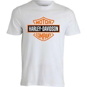 Maglietta-T-Shirt-Harley-Davidson-Moto-Motorcyclist-Maglia-tshirt-uomo-donna