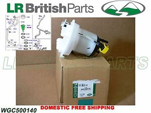 New Fuel Filter WGC500140 For Land Rover Range Rover 2006-2009 WGC 500140