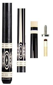 NEW-Players-G-3398-Pool-Cue-Black-Leather-Wrap-FREE-Jt-caps-amp-US-SHIPPING