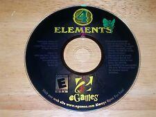 4 Elements PC CD-ROM eGames Playrix 2009 game for Windows 98/2000/XP/Vista 32bit