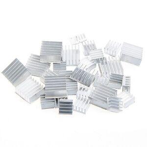 30X-Raspberry-Pi-3-Heatsink-Fans-Pure-Aluminum-Heat-Sink-10Set-Fr-Cooling-Pi-2