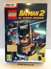 LEGO BATMAN 2 DC SUPER HEROES + LEX LUTHOR MINI TOY (PC) NUOVO SIGILLATO