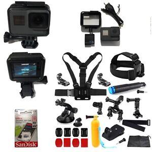 GoPro-HERO-5-BLACK-4K-CHDHX-501-Camera-16GB-Card-Adventure-Sports-Bundle-Hero5