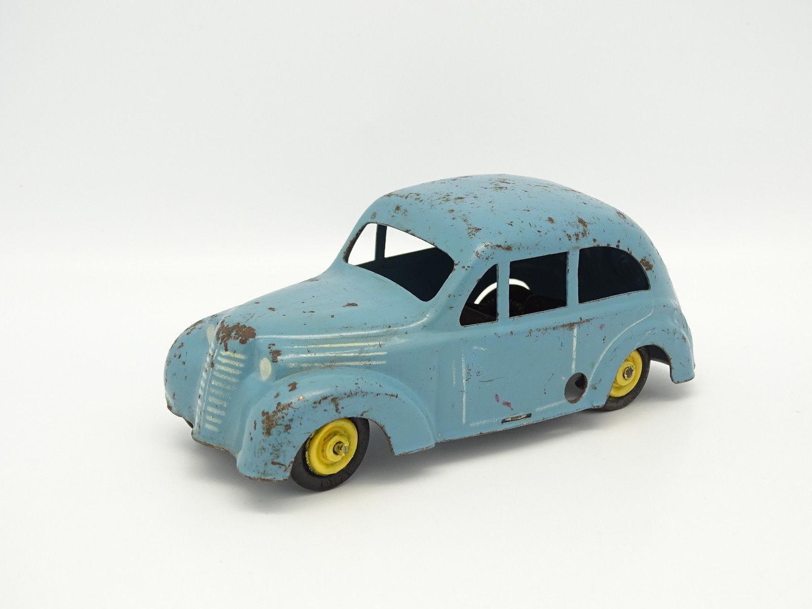 Cij Chapa de de de Metal Llave - Renault Juvaquatre blue bb4dd0