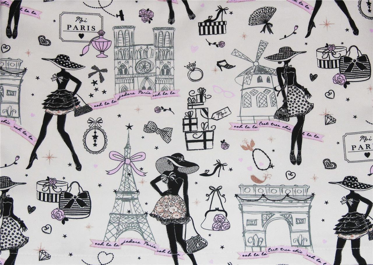 SAFECO France Ooh La La Paris Thème attractions épaisse Nappe 60 x 120 NEUF