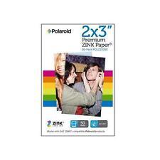 Polaroid Premium ZINK Zero Ink Paper Z2X350 2x3-inch for Z2300 Camera - 50 Pack