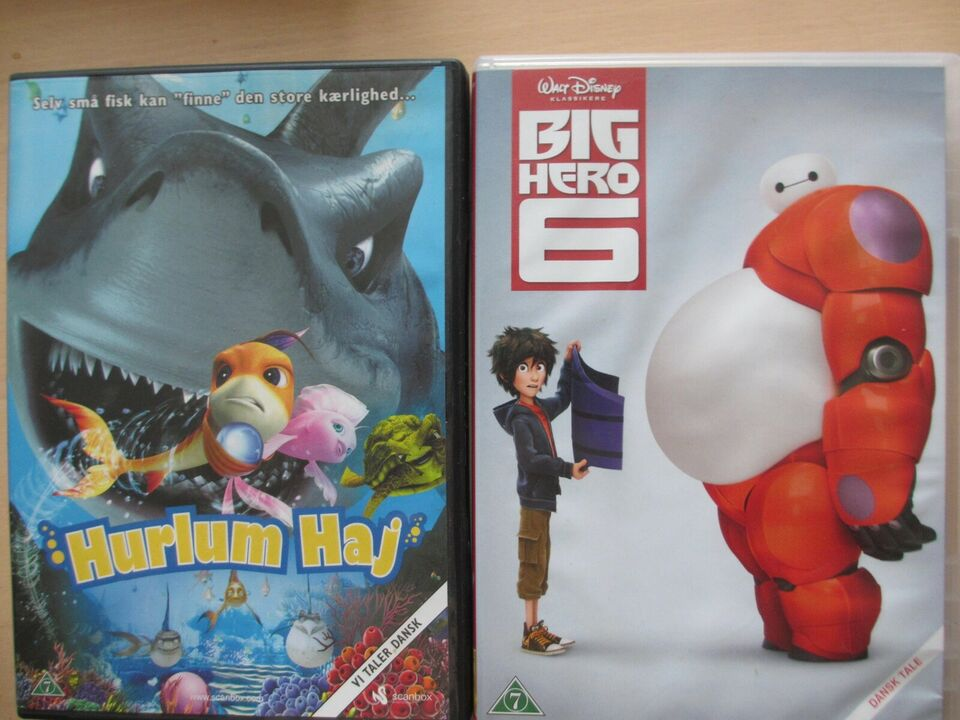 Diverse, DVD, animation