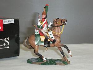 Roi et pays Na80 (s) 4ème dragon français monté avec un soldat jouet pistolet