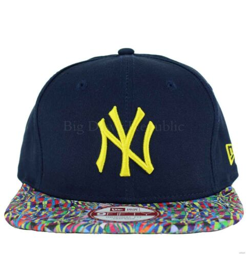 NEW Era Mlb 9 FIFTY NY NEW YORK YANKEES Biggie Visiera Snapback Cappellino Da Baseball