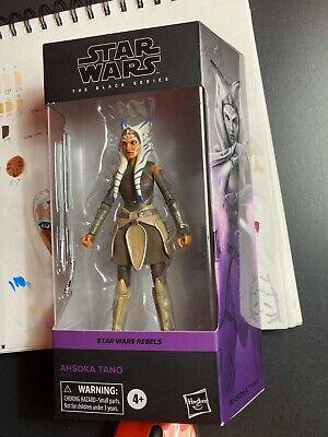 IN HAND NEW Star Wars The Black Series Ahsoka Tano 6-Inch MIB Fast Free Shipping