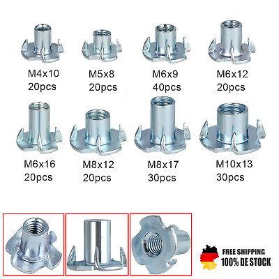 120tlg Gewinde Einschlagmuttern Einschlaggewinde Einschlagmutter M3 M4 M5 M6 M8