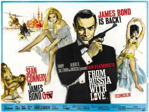 JAMES BOND 007 Action Movie Cinema Posters Rodger Daniel Craig Spectre #21