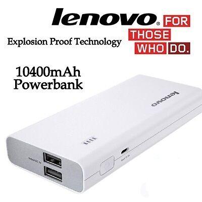 Lenovo PA10400 Power Bank 10400 mAh Portable Charger