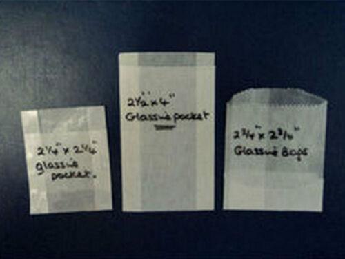 Glassine Envelope Bag Pocket Packet x 100 choose size! Store Stamps Seeds