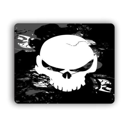 Smoke Skull Computer Gaming Mouse Mat Pad Desktop Laptop Mouse