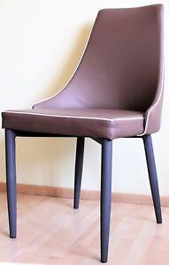 Set-4x-moderne-Stuehle-italienisches-Design-Tuoni-in-Mokla