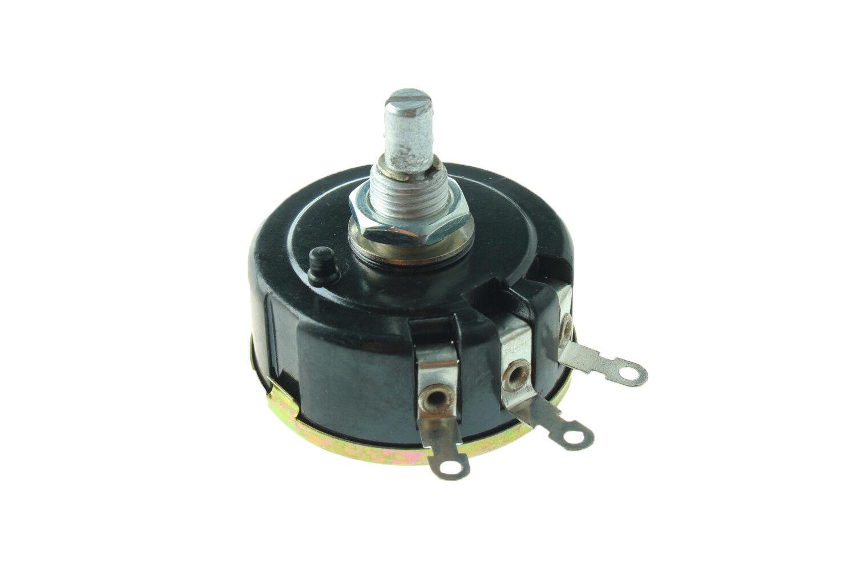10K ohm 3W 6mm Round Shaft Rotary Wire Wound Potentiometer 030 Brand NEW WX111