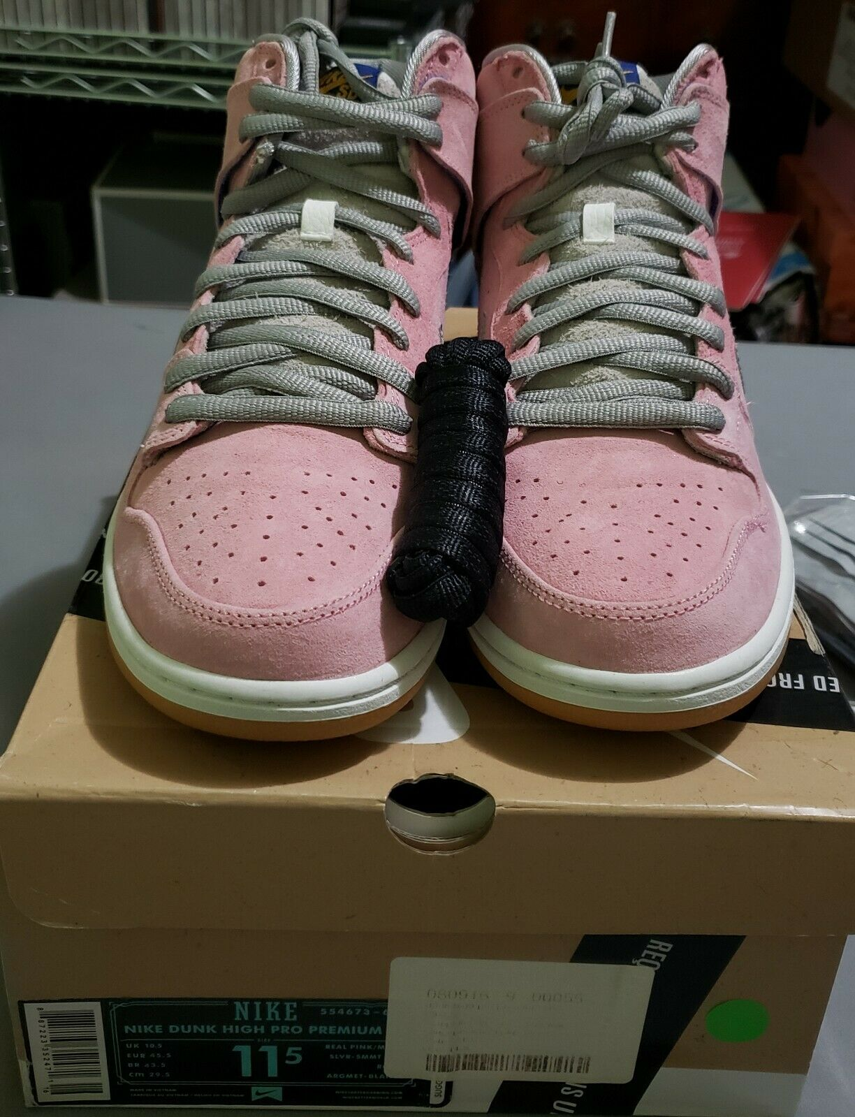 Nike Dunk SB High Concepts When Pigs Fly  Original Cncpts Box NEVER WORN US 11.5