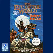 Wheel Of Time #1 - THE EYE OF THE WORLD - Robert Jordan - UNABRIDGED MP3 CD