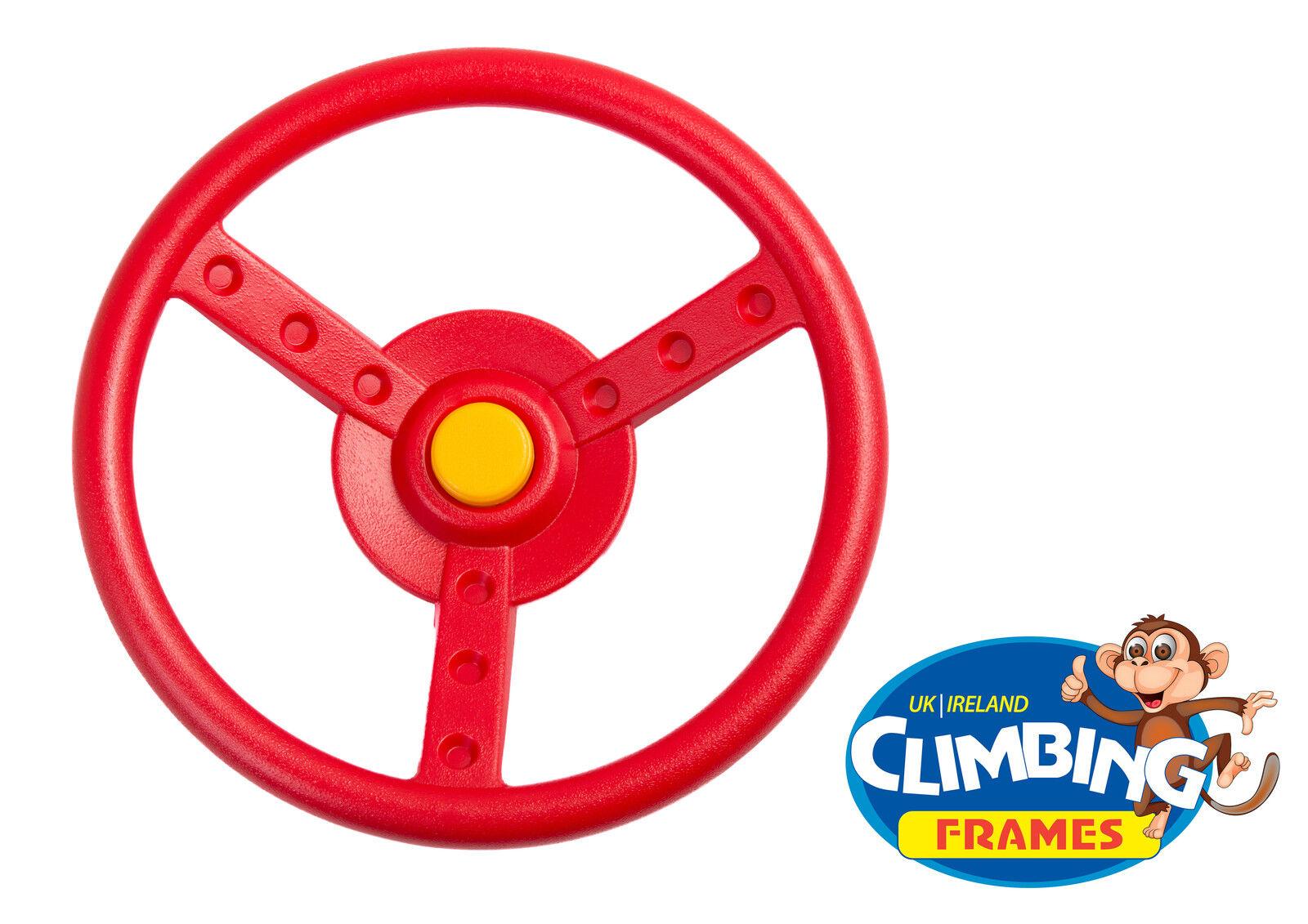 Rojo Amarillo volante para escalada MARCOS Casita de juegos Árbol ...