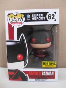 EARTH 2 BATMAN Hot Topic Exclusive DC COMICS Super Heroes Pop funko figurine 62