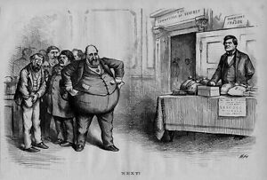 Details About Boss Tweed And The Tammany Ring Members Thieves Committee On Fraud Thomas Nast