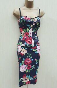 uk 12 karen millen floral rose lace trim 2 piece corset