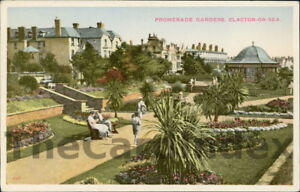 CLACTON-ON-SEA-Promenade-Gardens-Postcard-ESSEX-Anon