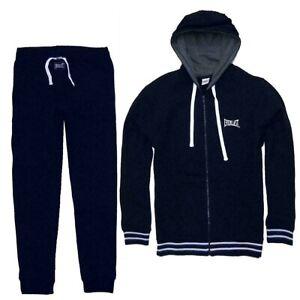 EVERLAST-tuta-uomo-sport-completo-felpa-pantalone-sportivo-felpata-zip-cappuccio