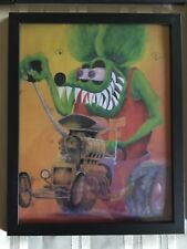 Rat Fink Art in 3-D poster size 11x17