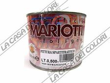COLORIFICIO MARIOTTI - VERNICE SPARTITRAFFICO - BIANCO - 0,500 lt