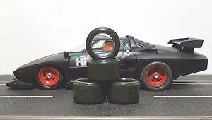 1-32-PAUL-GAGE-SLOT-CAR-TIRES-2pr-PGT-19125LM-fit-Racer-17x8-Alloy-Hubs