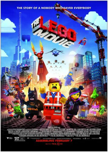 The Lego Movie Classic Movie Poster Art Print A0 A1 A2 A3 A4 Maxi