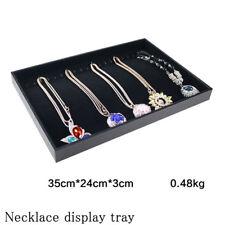 Jewelry Tray Display Holder Bracelet Earring Necklace Box Case Storage Organizer