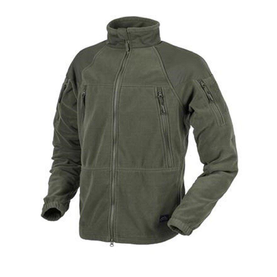 HELIKON tex Stratus Jacket heavy Fleece Army exterior  ocio chaqueta verde oliva verde  100% autentico