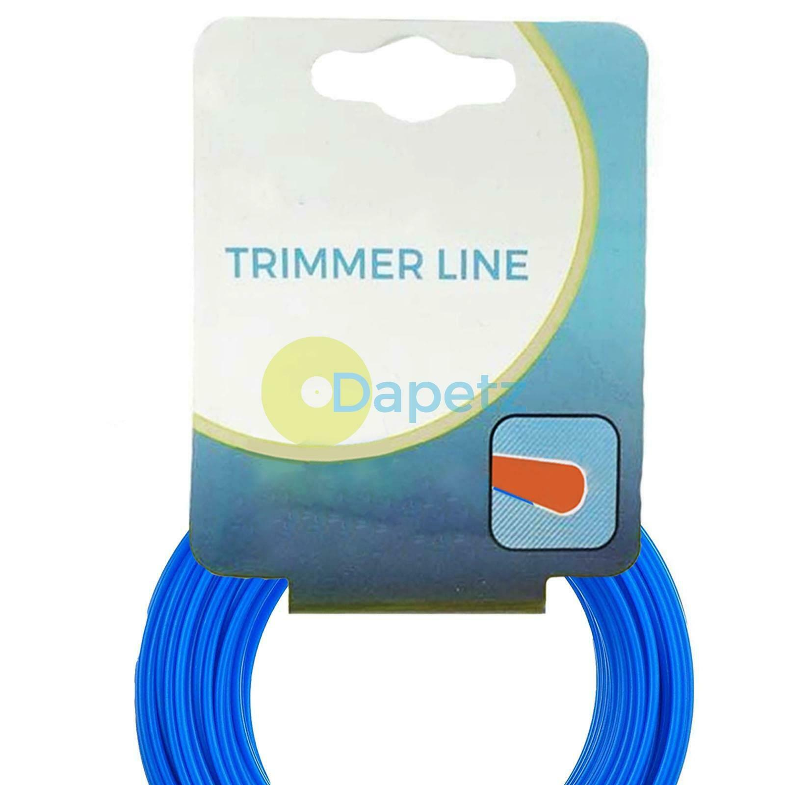 Universal SL002 1.6MM 15M TRIMMER LINE BLUE IDEAL CUTTING LINE FOR GRASS TRIMMER