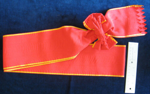 Imperial Russia Tsarist Russian Order of St Anna 1st Class Ribbon Sash