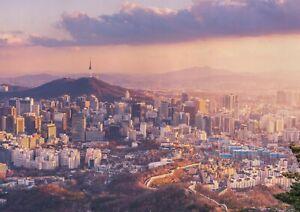 A1-Seoul-City-Poster-Art-Print-60-x-90cm-180gsm-South-Korea-Travel-Gift-12678